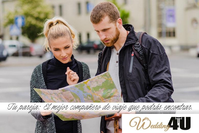Tu pareja, el mejor compañero de viaje que podrás encontrar.