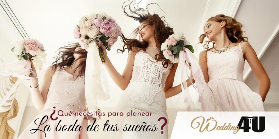 ¿Qué se necesita para planear la boda de tus sueños?