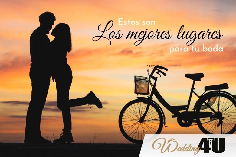 Los mejores lugares para celebrar tu boda