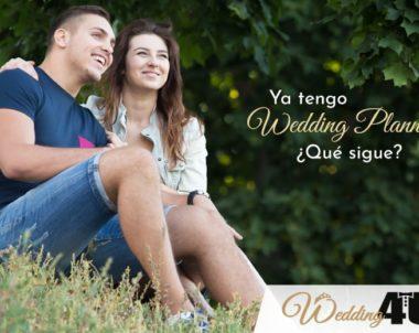 Ya tengo Wedding Planner ¿Qué sigue?