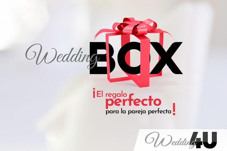 Wedding Box, ¡el regalo perfecto para la pareja perfecta!